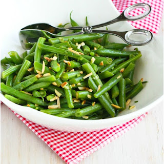 Green Beans with Lemon & Toasted Almonds