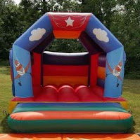 DISNEY PLANES BOUNCY CASTLE FOR HIRE