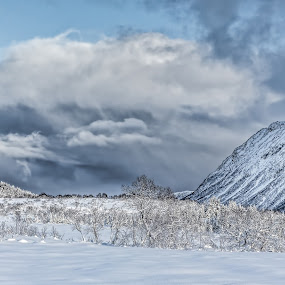 Snowclouds by Benny Høynes - Landscapes Cloud Formations ( clouds, mountains, winter, cold, snow, weather, landscapes )