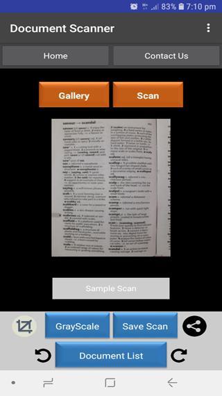 Ultra Scanner Screenshot 3