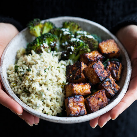 Favorite Lemon Pepper Baked Tempeh Cubes