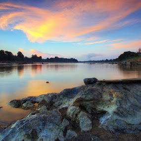 Batu Puja II by Kosmas Fikie Aryadi - Landscapes Waterscapes