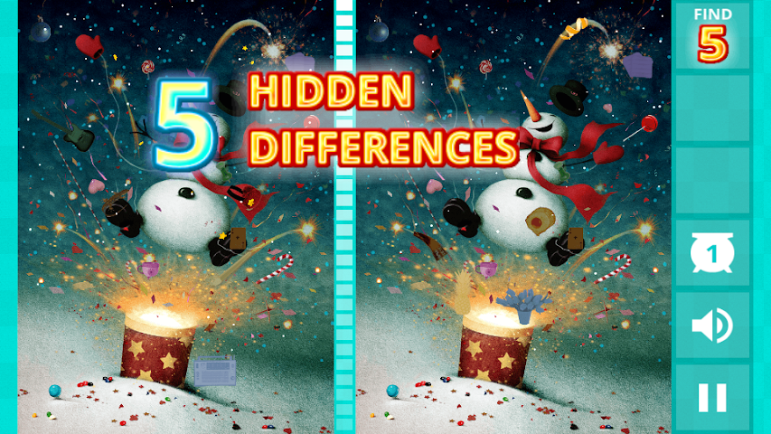 android Hidden Difference - Xmas Wish Screenshot 0