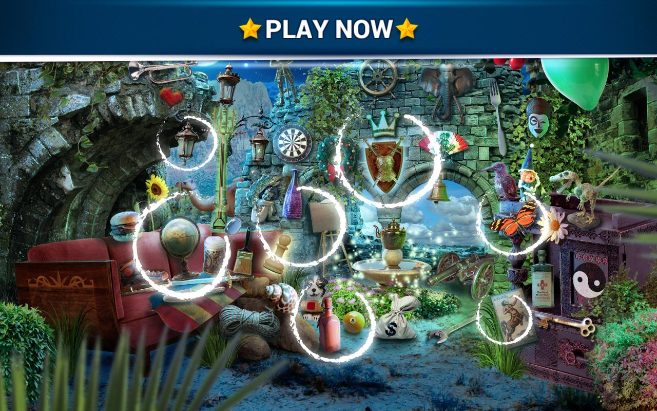Hidden Object Enchanted Castle Screenshot 3