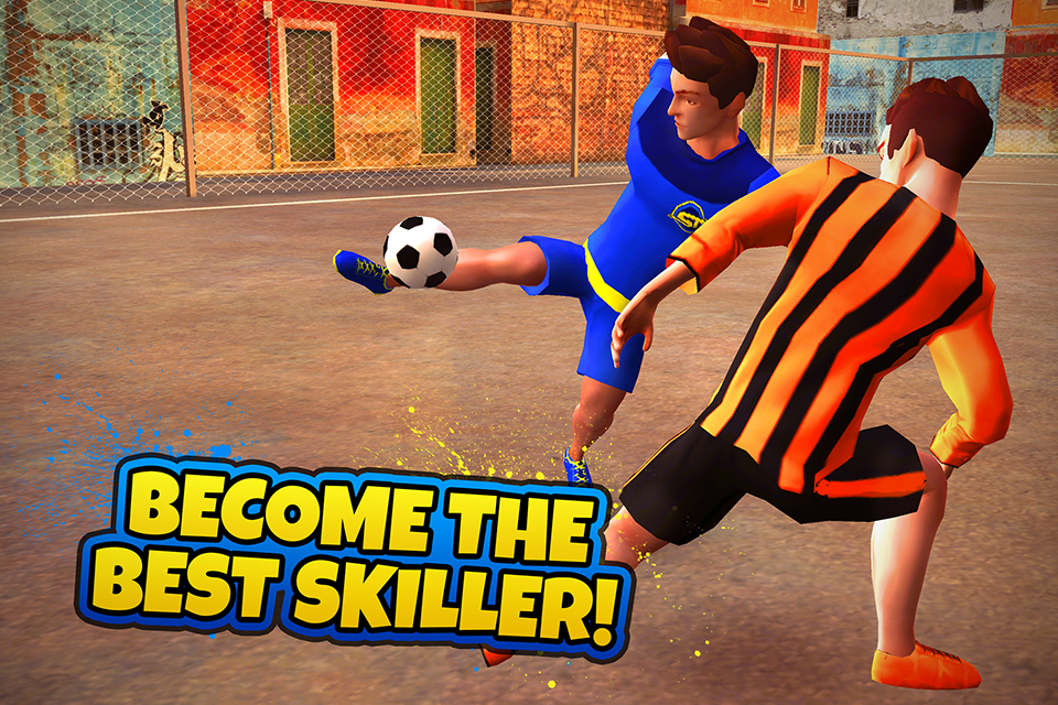 SkillTwins Football Game Screenshot 0
