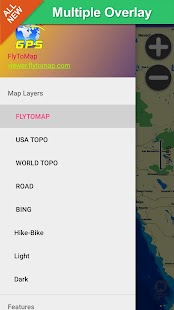 US Great Lakes gps navigator - screenshot