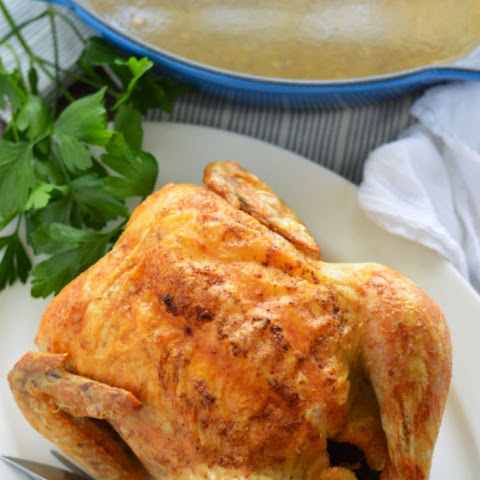 Roasted Paleo Chicken and Gravy