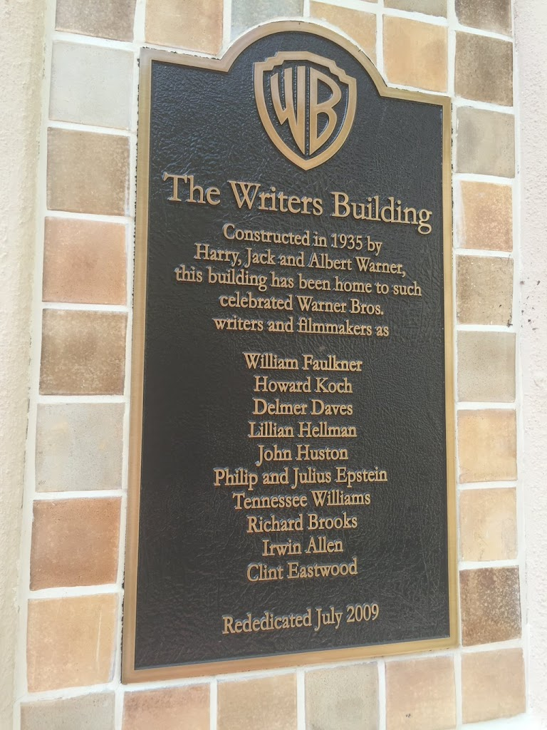 WB The Writers Building Constructed in 1935 by Harry, Jack and Albert Warner,this building has been home to suchcelebrated Warner Bros.writers and filmmakers as William FaulknerHoward ...
