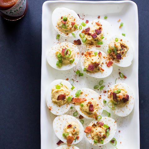 Devilish Eggs (Surprise Deviled Eggs) - Paleo, Gluten-Free, Primal, Low Carb