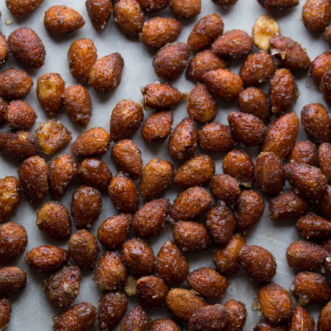Honey Chai Roasted Almonds