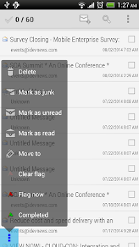 Mobile Access For Outlook OWA APK screenshot thumbnail 2