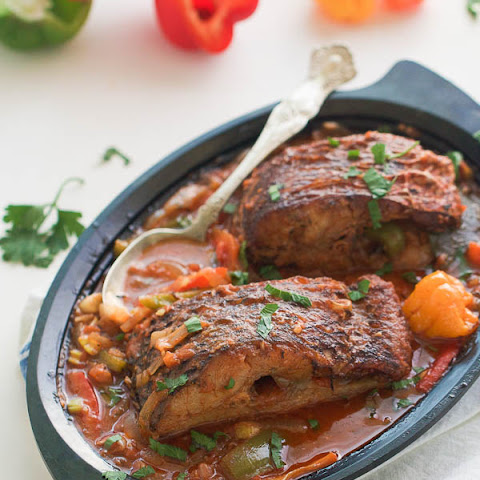 Caribbean Stewed Fish
