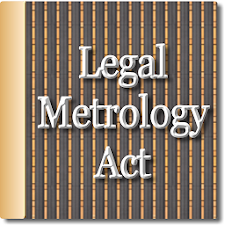 The Legal Metrology Act 2009
