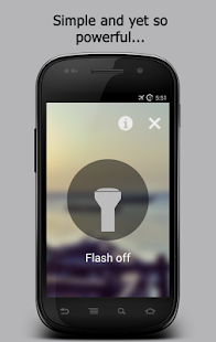 WickerLED Flashlight - screenshot