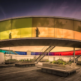 Your Rainbow Panorama by Ole Steffensen - Buildings & Architecture Other Exteriors ( olafur eliasson, your rainbow panorama, museum, denmark, aarhus, aros, artwork )