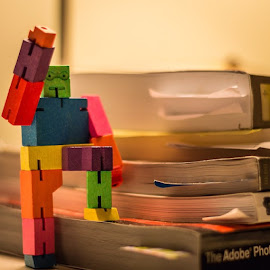 The Adventures of CubeBot! #canon #photoaday #lightroom5 #50mm by Josh Ryder - Instagram & Mobile iPhone