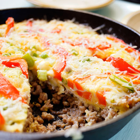 Oven Baked Ground Turkey and Egg Omelet