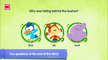 Screenshot of BBC CBeebies Storytime