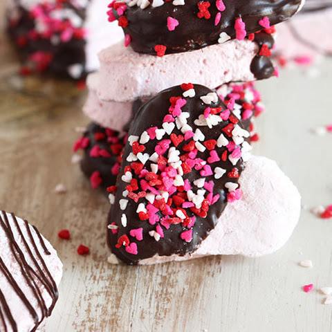 Chocolate Covered Strawberry Marshmallows