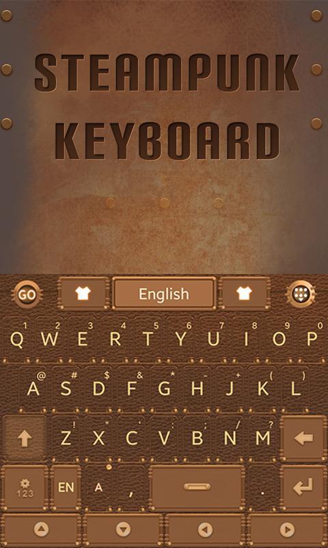 Steam-Punk-GO-Keyboard-Theme 10