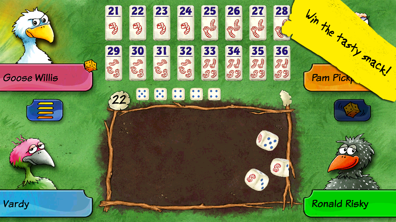 Pickomino by Reiner Knizia Screenshot 1
