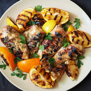 Grilled Citrus Chicken Breasts