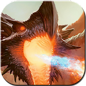 Immortal Fire Dragon Theme APK for Bluestacks