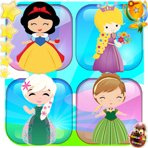 Memory games - Princess matching For PC (Windows & MAC)