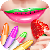 Download Fruity Lipstick Maker Salon APK to PC