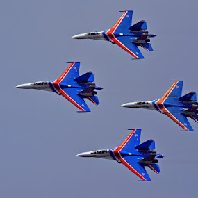 ....Russian Knights... by Acai Ibrahim - Transportation Airplanes