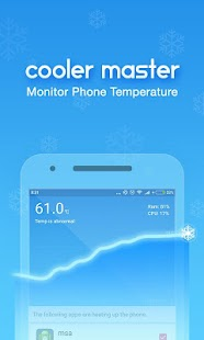 CPU Cooler Master, Phone Cool for Lollipop - Android 5.0