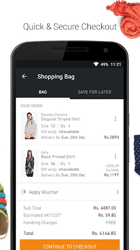 JABONG ONLINE SHOPPING APP screenshot 5