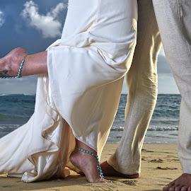Morning by Milan Vasovic - Wedding Bride & Groom ( milan, milanphotocineart, punta cana photographer, dominican republic, wedding photographer, trash the dress )