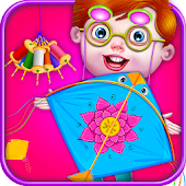 Free Download Kite Making Factory Game for Kids APK for Samsung