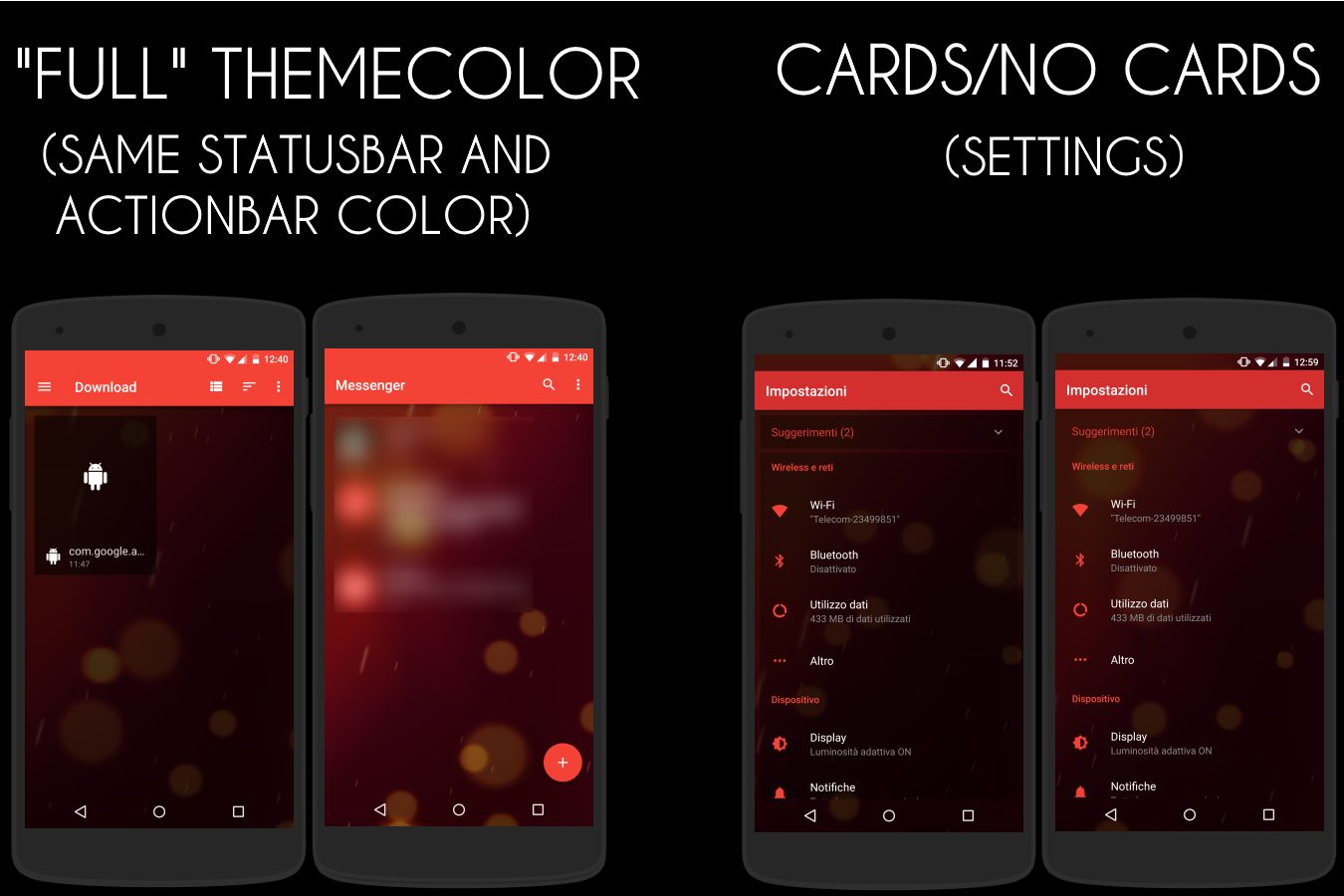 [Substratum] Transparent Theme Screenshot 5
