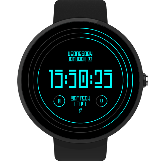 Xelon Digital Watch Face FWF