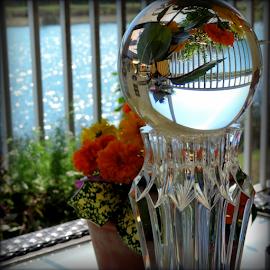 Marigold Globe by Elfie Back - Artistic Objects Glass (  )