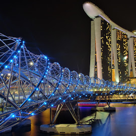 Marinabay by Thet Paing Swe - Buildings & Architecture Bridges & Suspended Structures (  )