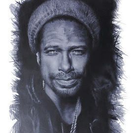 Gary Dourdan by Kile Zabala - Drawing All Drawing ( pen, draw, lapiz, dibujo, drawing )