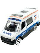"Машинка ""МИР МАШИНОК"" 1:64 ""POLICE"" Микроавтобус"