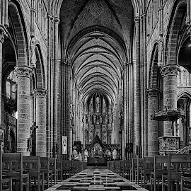 Eddy Maerten by Eddy Maerten - Buildings & Architecture Places of Worship ( black and white, big )