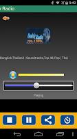 Screenshot of Radio Thailand