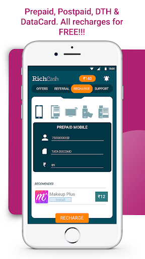 RichCash free recharge screenshot 4