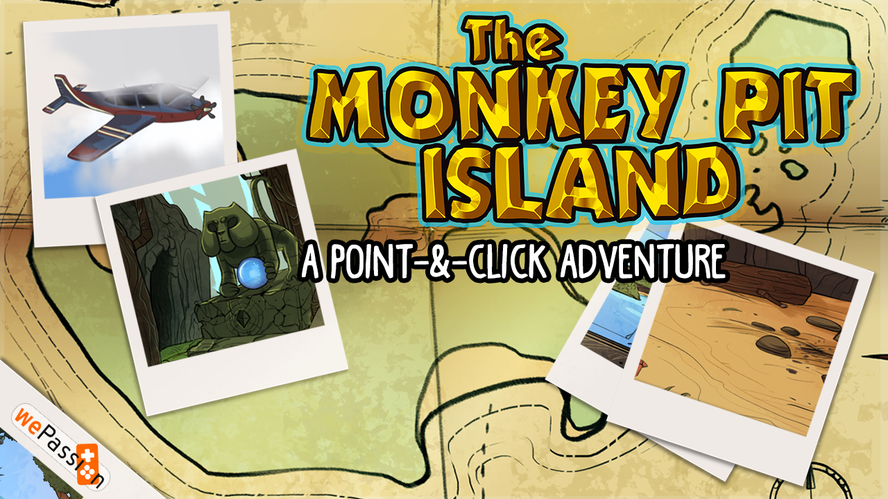 The Monkey Pit Island - Survive the treasure curse Screenshot 0