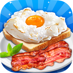 Breakfast Maker - Make Cloud Egg, Bacon & Milk