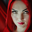 Red Riding Hood by Glory Reaglobe - People Portraits of Women ( faces, red, riding, beauty, hood )
