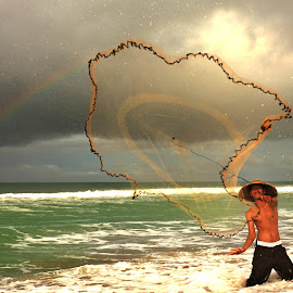 Catch the Rainbow by Rizano Sumampouw - Novices Only Portraits & People