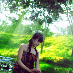AYU by Ricky Amsal - People Portraits of Women