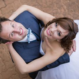Up by Lood Goosen (LWG Photo) - Wedding Bride & Groom ( wedding photography, wedding photographers, wedding day, weddings, wedding, wedding dress, bride and groom, wedding photographer, bride, groom, bride groom )