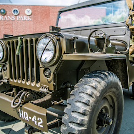 Veterans Jeep by Dave Toro - Transportation Automobiles